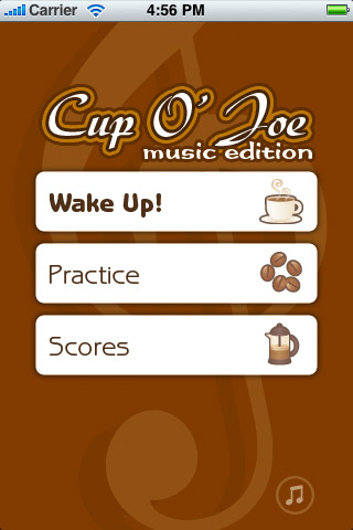Screenshot Cup O' Joe Music Edition : Learn to sight read music