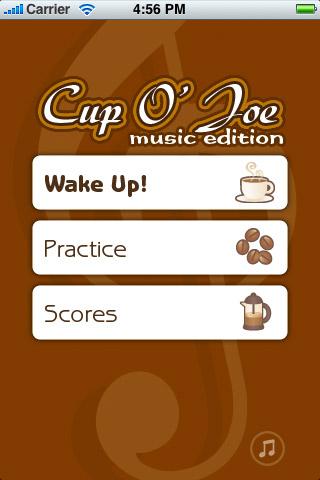 Screenshot Cup O' Joe Music Edition : Learn to sight read music