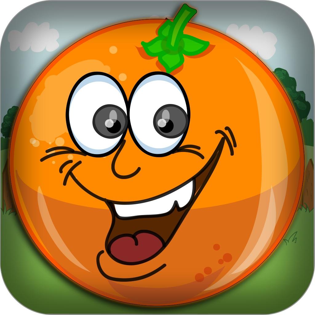 Оранжевый Падение блиц - Не бросайте свои плоды Выживание игры